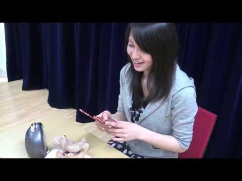 中島愛がケータイから動画を投稿してみた。