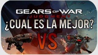 Gears Of War Judgment: Hammerburst Clasica VS. Actual - ¿Cual es la mejor?