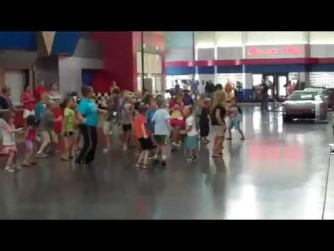 Vette Camp and NCM Staff FLASH MOB!