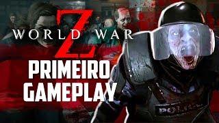 World War Z - Primeiro gameplay, a maior HORDA DE ZUMBIS