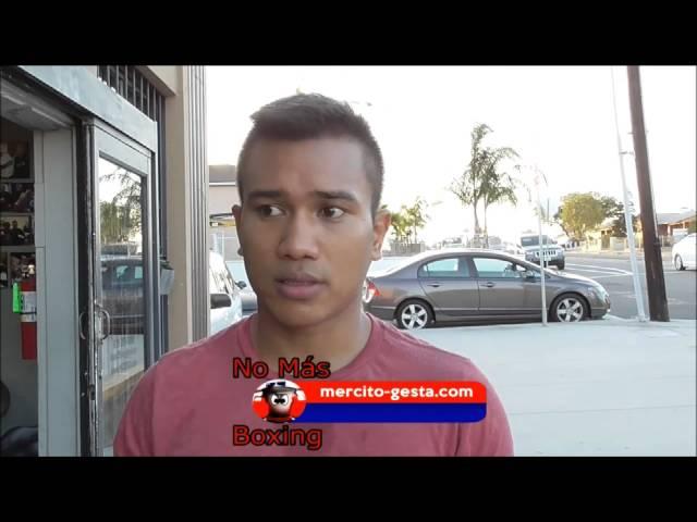 "Mercito ""No Mercy"" Gesta Pro Boxer (27-1-1) KO15"