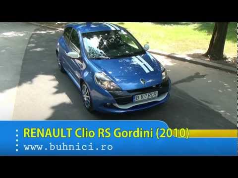 Renault Clio RS Gordini 2010 (review by buhnici.ro)