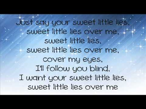 Glenna-Sweet Little Lies [With Lyrics]