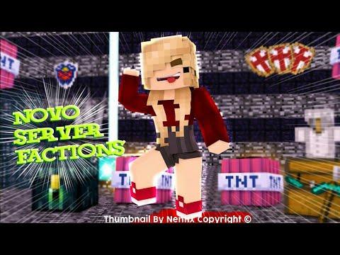 Minecraft 1.1.5: NOVO SERVIDOR DE FACTIONS FÊNIX !!