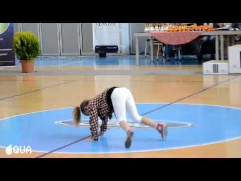 AQUA | ROCK THE CULTURE | Breakdance Solo - Vanja Sekuloska @ State Championship 2013