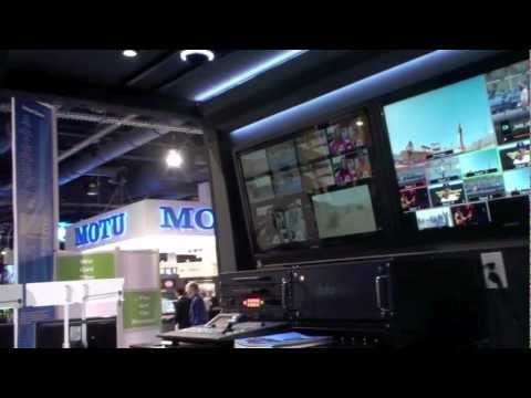 NAB 2012 MDK Studios Broadcast Installations