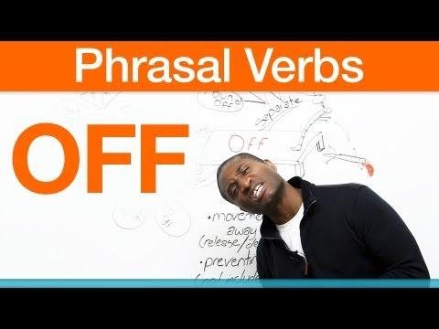 Phrasal verbs – OFF – make off, get off, pull off…