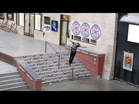 DANNY GORDON ROCKET BACK TAIL SHUV IT BERRICS 10 STAIR RAIL