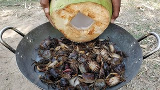 Field Crab Recipe / Delicious Cooking Crab With Coconut
