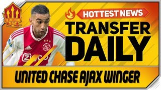United Chase Ajax Transfer! Man Utd Transfer News