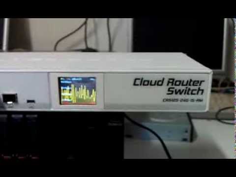 Mikrotik Cloud Switch Router