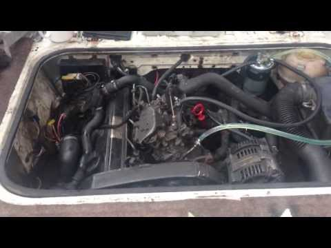 VW T25 T3 Vanagon 1.9 TD AAZ back running :D
