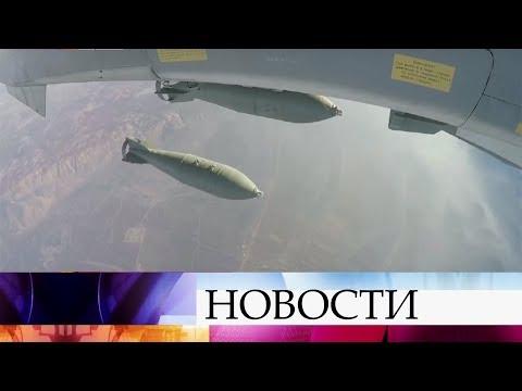 Российские военные недопустили прорыва боевиков кПальмире.