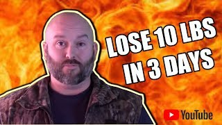 How to lose 10 lbs in 3 days Right before summer ! Military diet...
