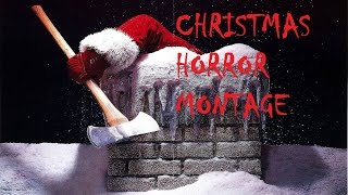 Christmas Horror Movies Montage