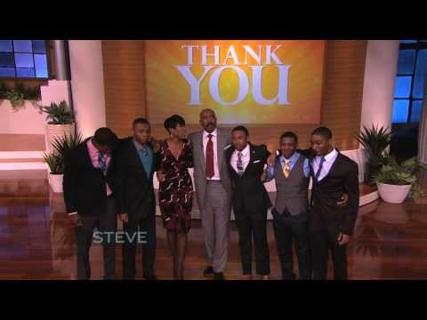 Steve Harvey s Emotional Thank You!