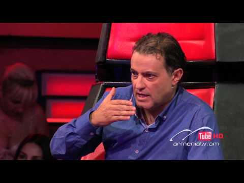 Roza KhachatryanGrenade by Bruno Mars -- The Voice of Armenia...