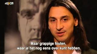 Zlatan talks about Ajax, meets Andy van der Meyde (2012)