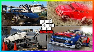 GTA 5 Online - Top 10 MOST Underrated Cars & Forgotten Vehicles In GTA Online! (GTA 5 RARE Cars)