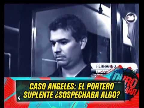 CASO ANGELES RAWSON - ¿EL PORTERO SUPLENTE SOSPECHABA DEL TITULAR? - 18-06-13