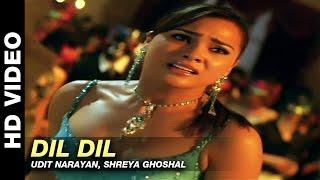 Dil Dil - Jurm | Udit Narayan, Shreya Ghoshal | Bobby Deol & Lara Dutta