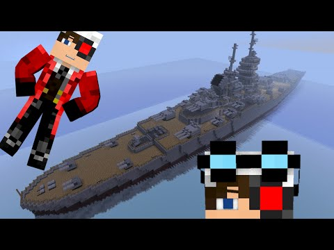 ПРЯТКИ НА БОЛЬШОМ КОРАБЛЕ В Minecraft :3