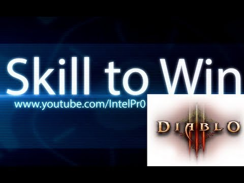 Diablo 3 - Barbarian , the Immortal King of Diablo [Inferno MP9 act 1 farming]