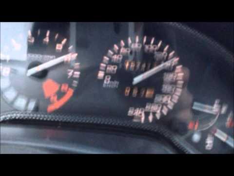 Honda CRX Targa Del Sol 1.6 VTI VTEC acceleration sound