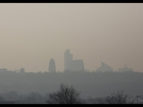 High air pollution levels hit parts of UK
