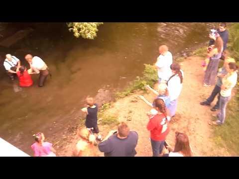 Muddy water baptism