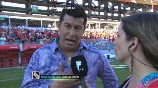 """Almirón:""""Me explota el corazón"""".Independiente-Racing.Fecha 5.Torneo Primera División 2014.FPT"""