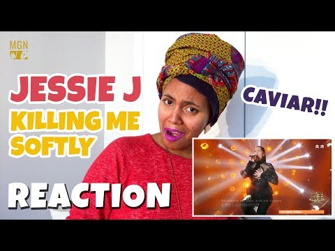 Jessie J - Killing Me Softly With His Song   Singer 2018   M-ANGEL REACTION