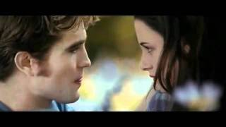 Edward and Bella  meadow scene