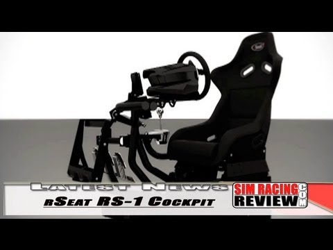 Sim Racing Review Latest News - rSeat's New RS-1 Cockpit