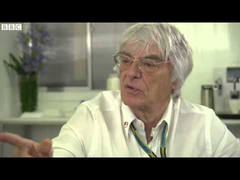 F1 Exhibit - Eddie Jordan talks in-depth with Bernie Ecclestone about F1 finances