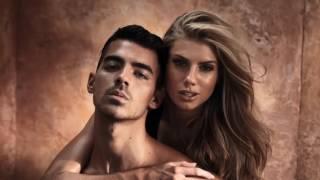 Joe Jonas  Charlotte McKinneys Steamy Guess Photo Shoot  E News