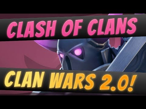 Clan Wars 2.0 Clash of Clans New Update Review!