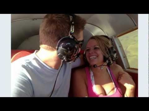 Best Proposal Ever- Airplane Proposal