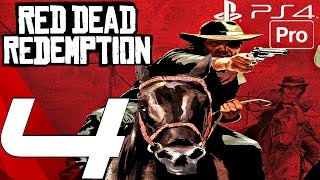 Red Dead Redemption (PS4) - Gameplay Walkthrough Part 4 - Bonnie Kidnap & Irish Machine Gun
