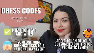 How a Diplomat's Wife Does It: Decoding Dress Codes | Almost Diplomatic