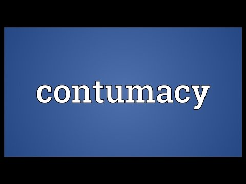 Header of contumacy