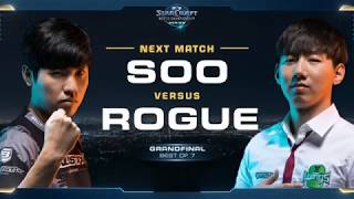 soO vs Rogue ZvZ – Championship – WCS Global Finals 2017 – StarCraft II