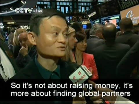 Exclusive interview with Jack Ma on Alibaba's market debut