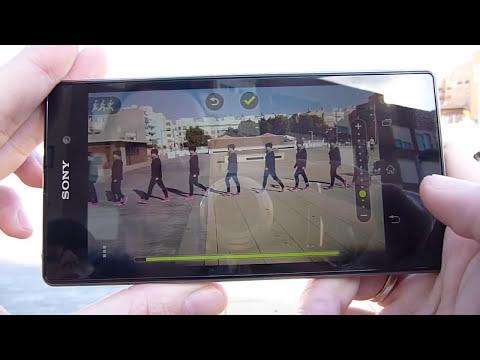 Aplicación Motion Shot para la cámara del Sony Xperia Z1