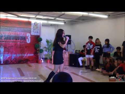 Nicole Perez (Jennie Cover - Special Performance) on KPOP Showdown 3: Love Whisper