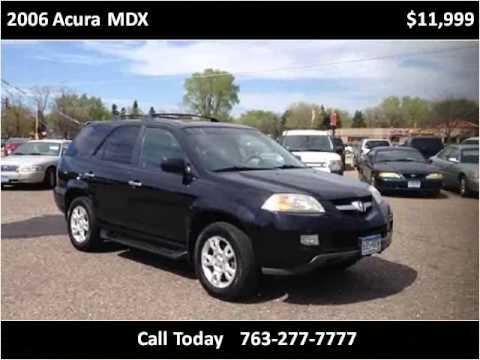 2006 Acura MDX Used Cars Spring Lake Park MN
