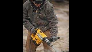 Head To Head Testing 1-9/16 SDS MAX  Rotary Hammer Testing