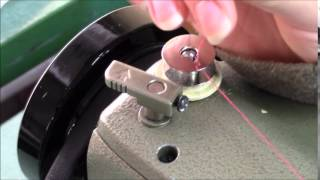 How to Wind a Bobbin on a Singer Industrial Sewing Machine