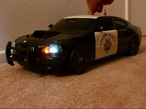 1 10 Scale Chp Dodge Charger Drift Rc With Leds Youtube
