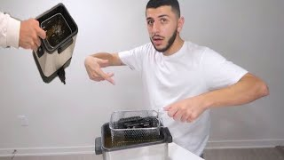 DEEP FRYING MY $700 CAMERA! *BAD IDEA*